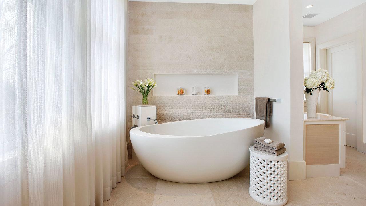 Designing Around a Freestanding Tub  Mansion Global
