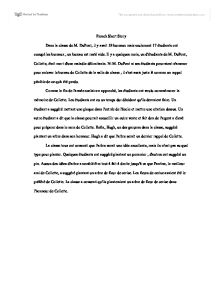 French Short Story  Gcse Modern Foreign Languages  Marked By Teacherscom