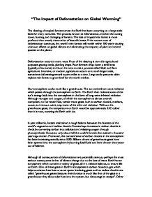 Deforestation Essay Essay On Deforestation For Children And Students