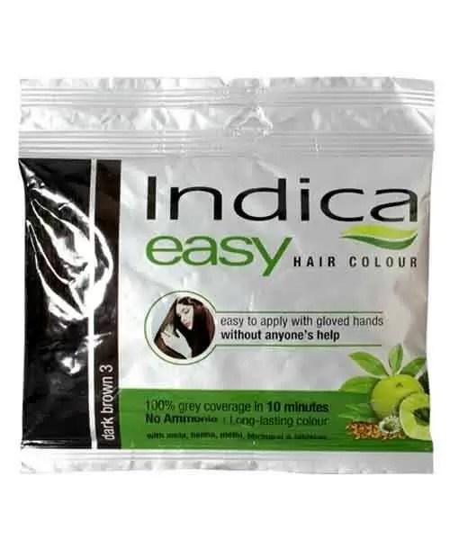 INDICA EASY HAIR COLOR DARK BROWN 25ML INDICA Buy