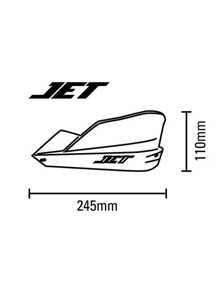 JET Plastic Guards Barkbusters + Hardware Kit BMW R1100GS