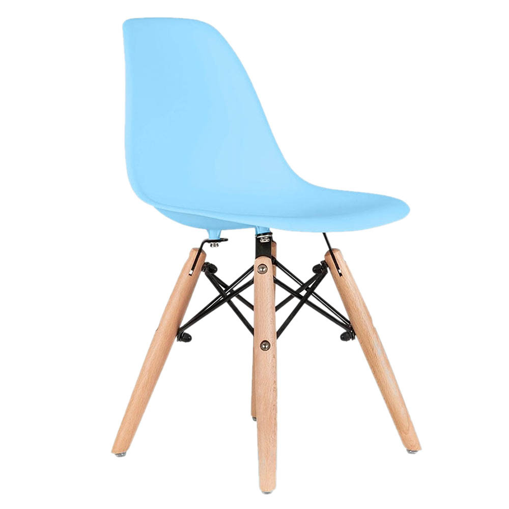 Plastic Kids Chairs Ebarza Kids Chair Plastic Blue