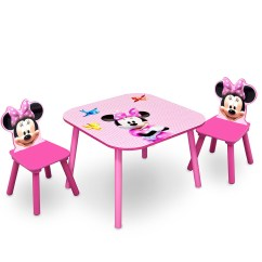 Minnie Table And Chairs Girls Desk Chair Delta Children Mouse