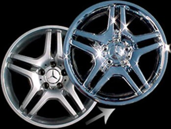 Chrome Plating Aluminum Wheels