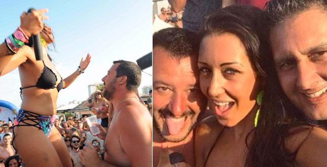 Lestate torrida di Matteo Salvini senza Elisa Isoardi
