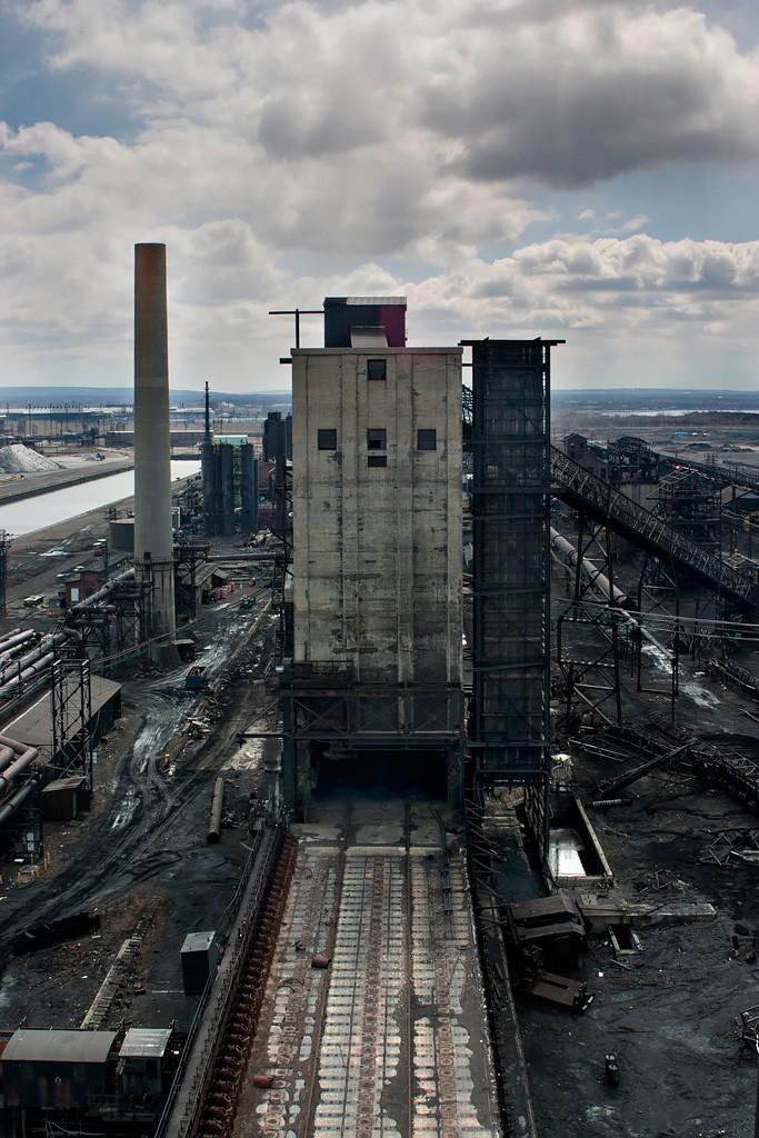 Birds Eye  Photo of the Abandoned Bethlehem Steel
