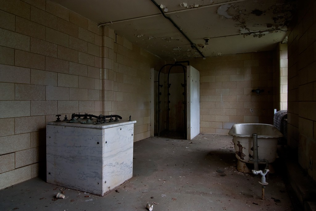 Hydrotherapy Room Photo Of The Abandoned Greystone Park