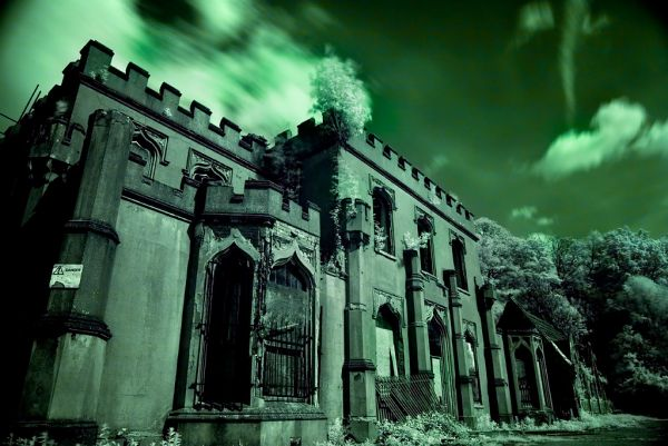 Photo of the abandoned Great Barr Colony (St Margaret's Hospital) in Great Barr, Walsall England