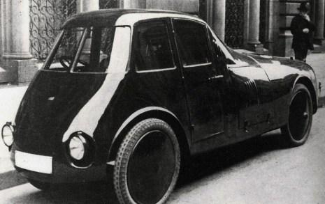 Automobilul aerodinamic Aurel Persu 1922 3