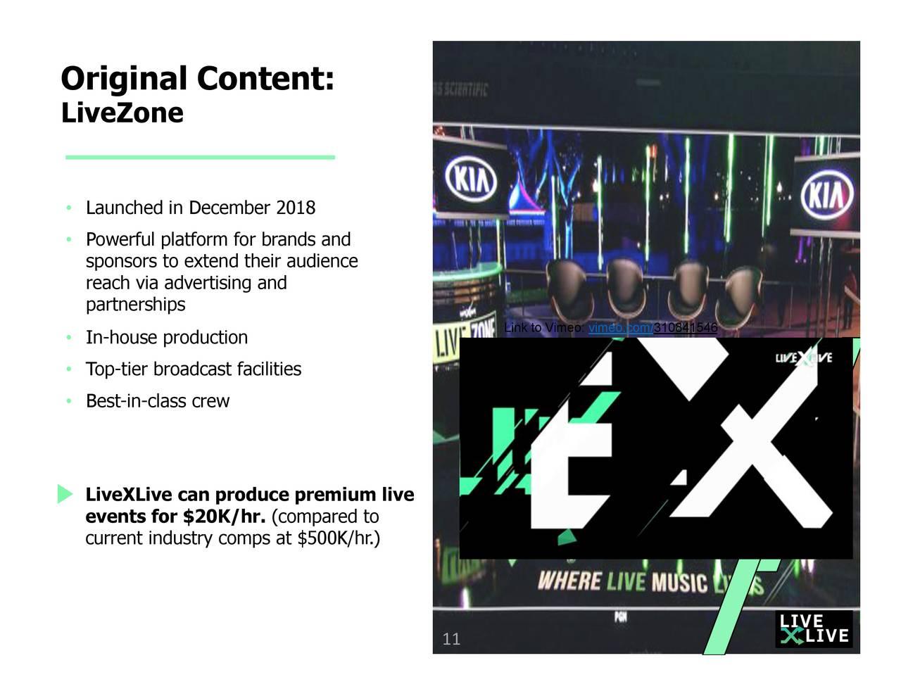 LiveXLive Media (LIVX) Investor Presentation - Slideshow (NASDAQ:LIVX) | Seeking Alpha