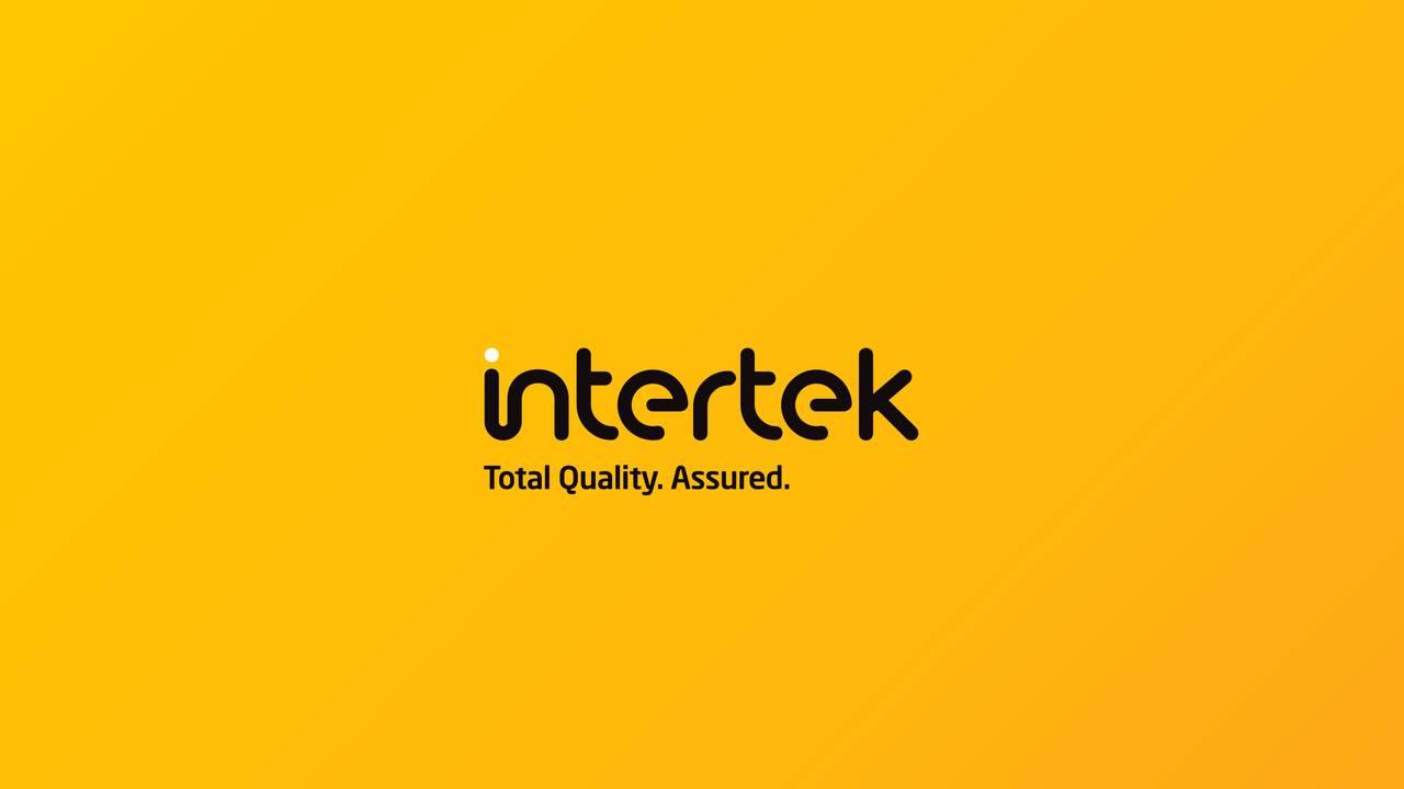 Wallpaper Desktop Quote Intertek Group Plc 2016 Q4 Results Earnings Call