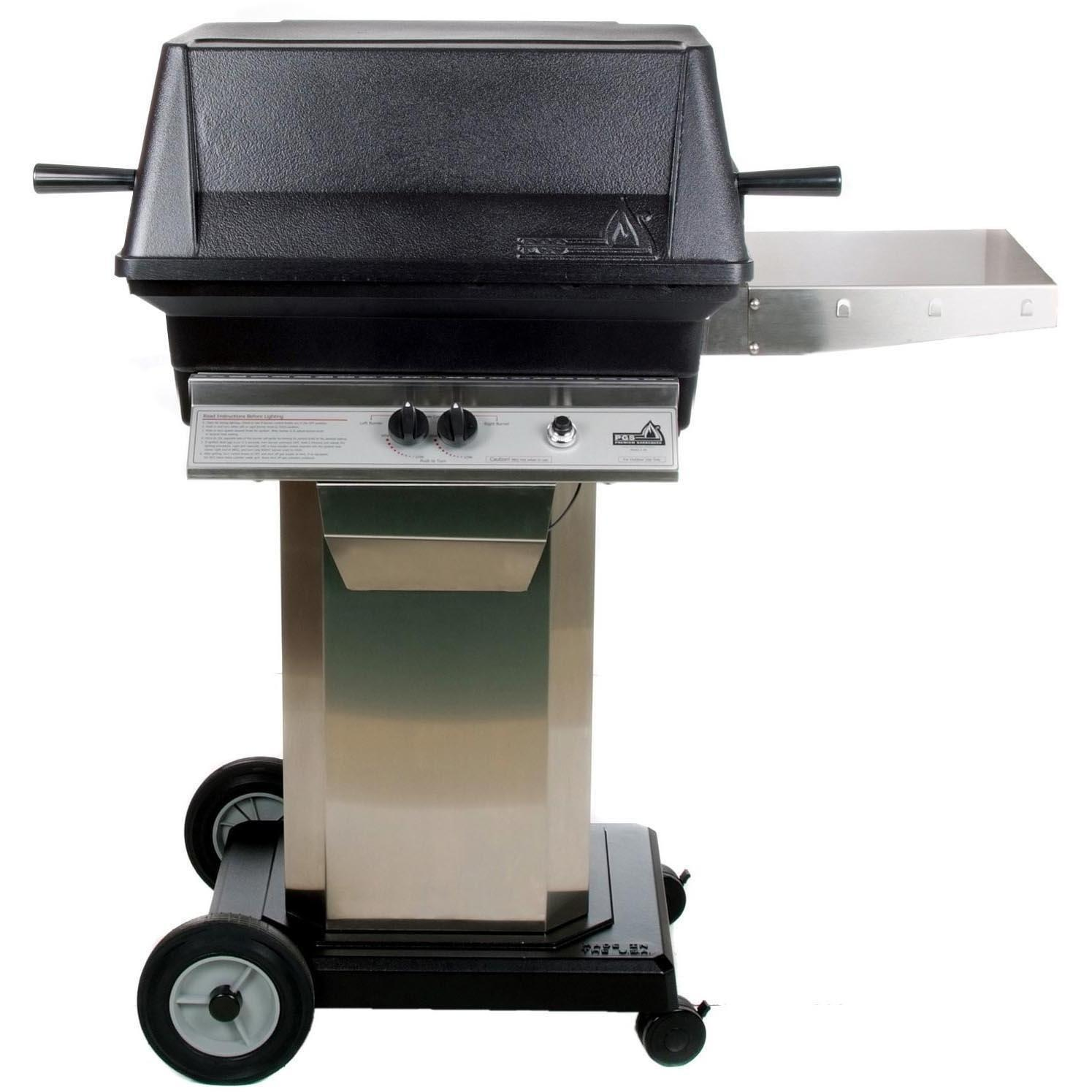 Pgs A30 Cast Aluminum Propane Gas Grill On Stainless Steel