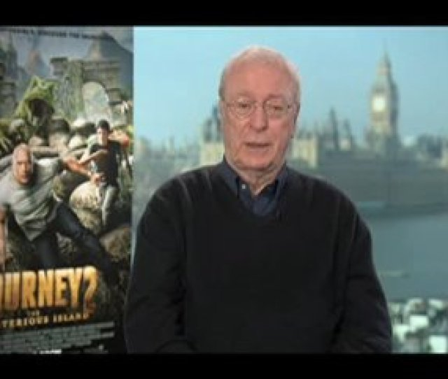 Michael Caine Journey  The Mysterious Island Interview Video Thumbnail