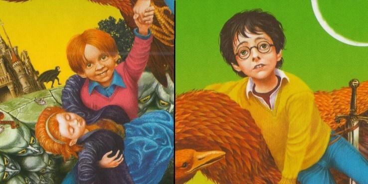La edición ucraniana de  Harry Potter y la Cámara de los Secretos.