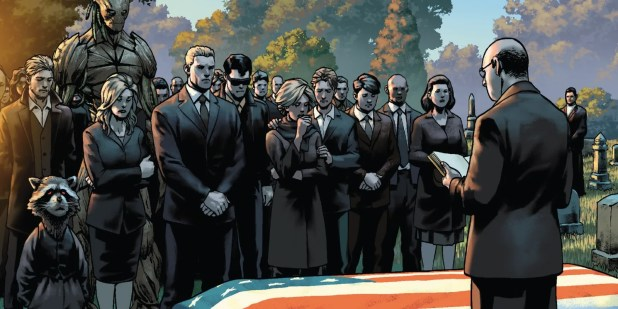 Image result for marvel funeral