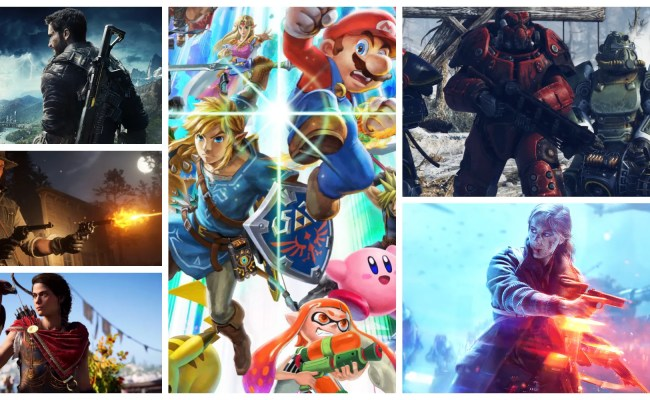 Here Are All The Big Games Releasing Fall 2018 Screen Rant