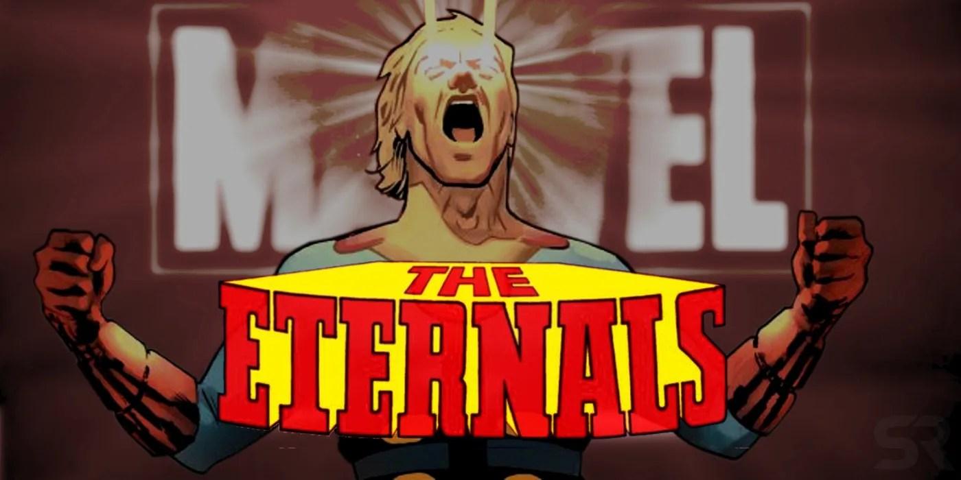 Marvels Eternals Movie Trailer Cast Release Date