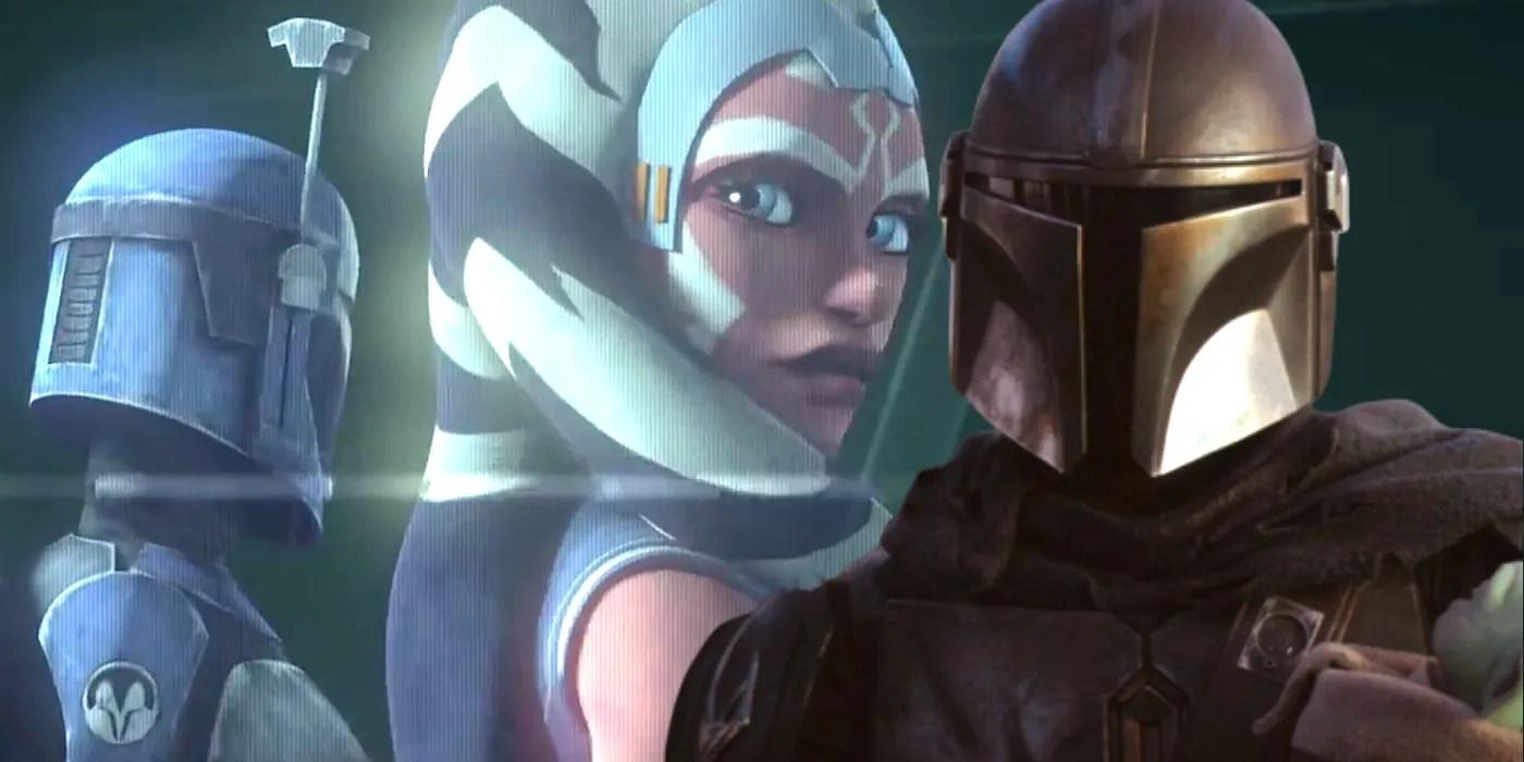 Star Wars How The Mandalorian Sets Up Clone Wars Season 7