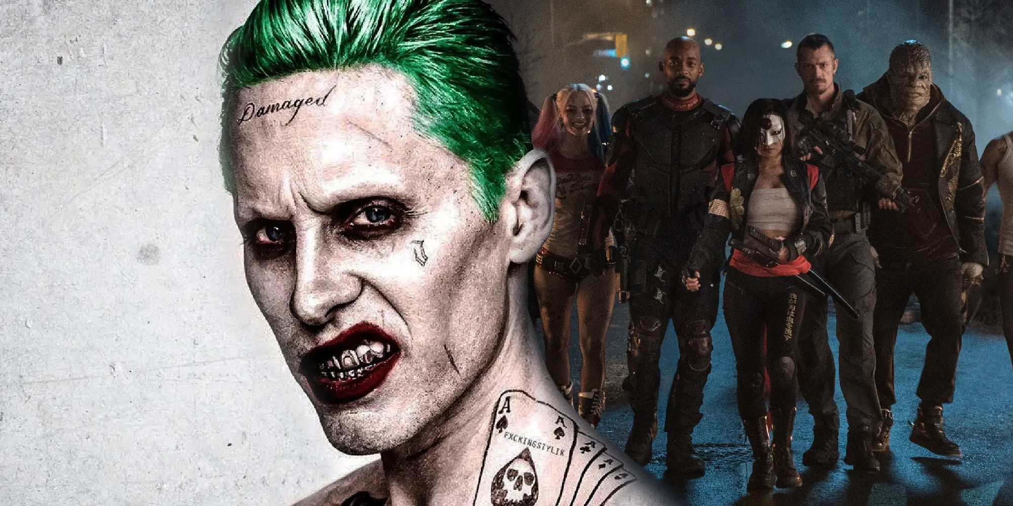 Ayer Squad Suicide's cut could never be big enough to repair Joker Leto