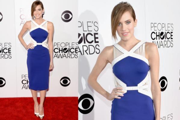 Allison Williams People's Choice Awards 2014