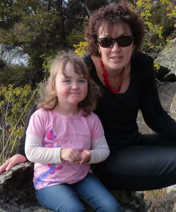 Tanya McLaren and daughter Mia