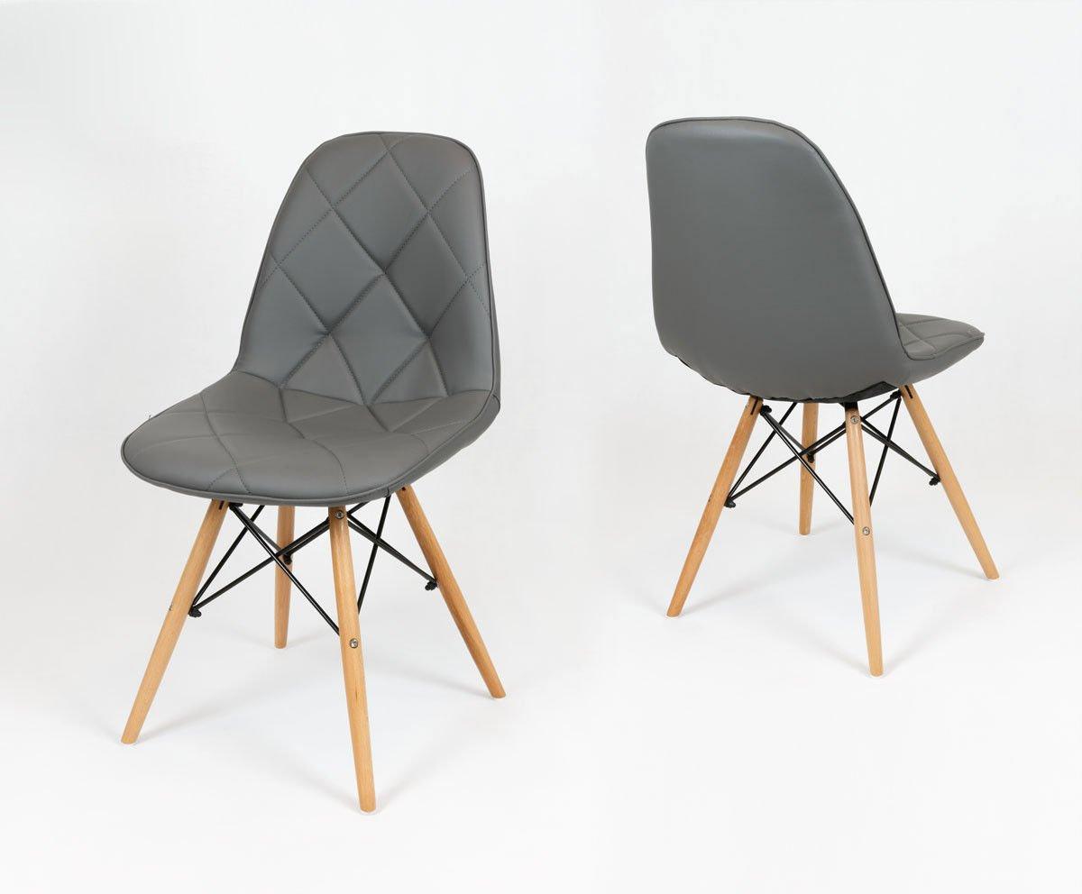Design Stuhl Holzbeine  Wohndesign