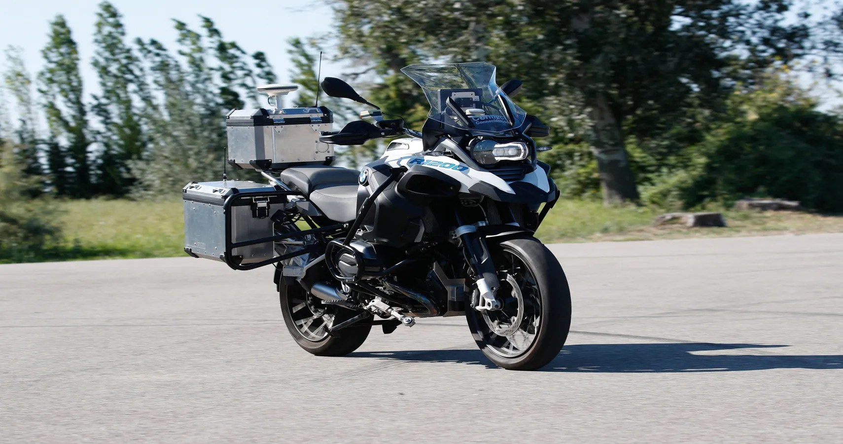 Image result for motorcycle driving itself