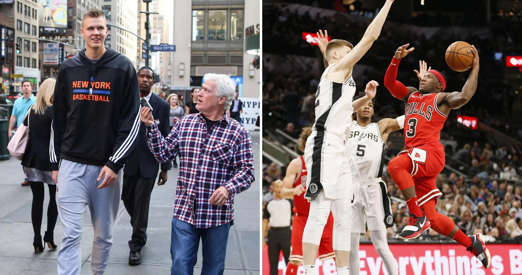 The 10 Tallest And 10 Shortest Nba Players Today