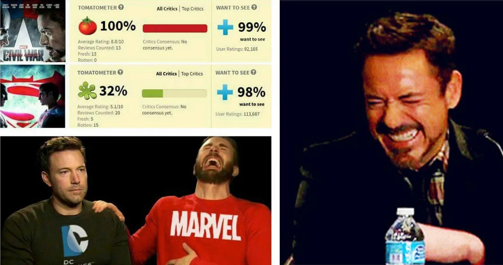 15 hilarious marvel vs