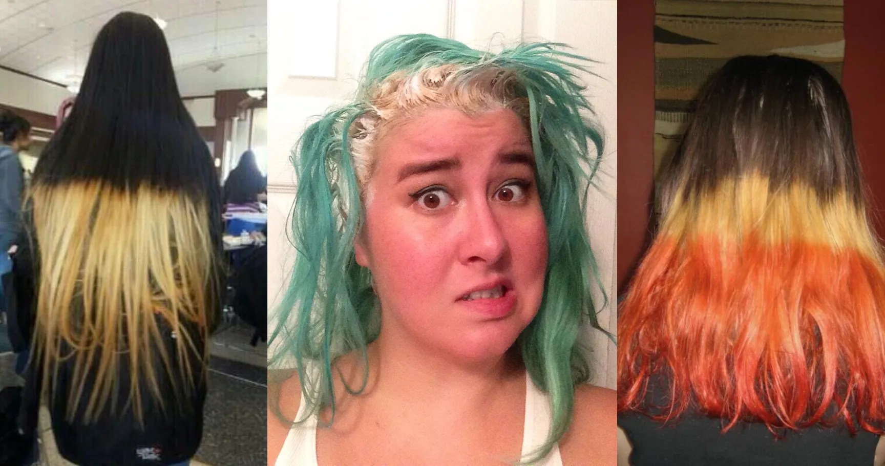 20 Times People Failed At Dyeing Their Own Hair
