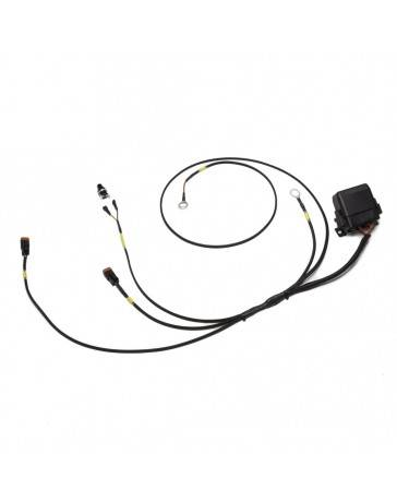 350z Chase Bays Dual Fan Relay Wiring Harness with 180º F