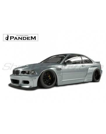 E46 M3 Wide Body Kit : (E46), Pandem, Complete, Widebody, TORQEN