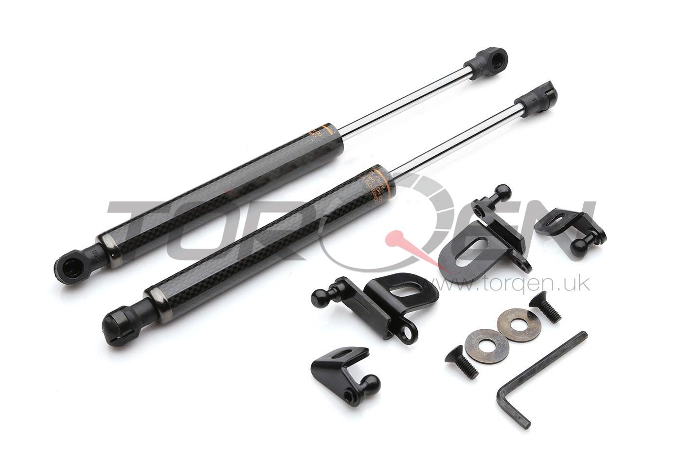 350z P2m Carbon Fiber Bonnet Damper