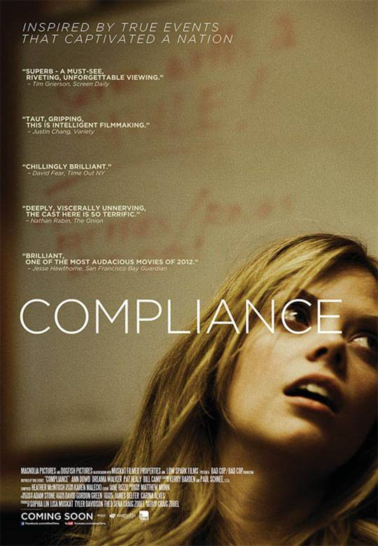 Compliance  On DVD  Movie Synopsis and info