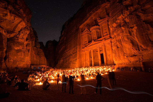 Petra is now a UNESCO World Heritage Site that enchants visitors from all corners of the globe.- Jordan