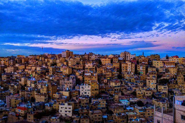 Amman is a sprawling city spread over 19 hills- Jordan