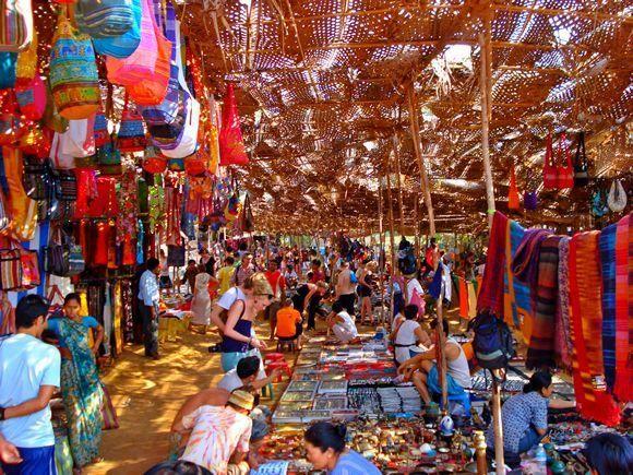 Mapusa market in North Goa