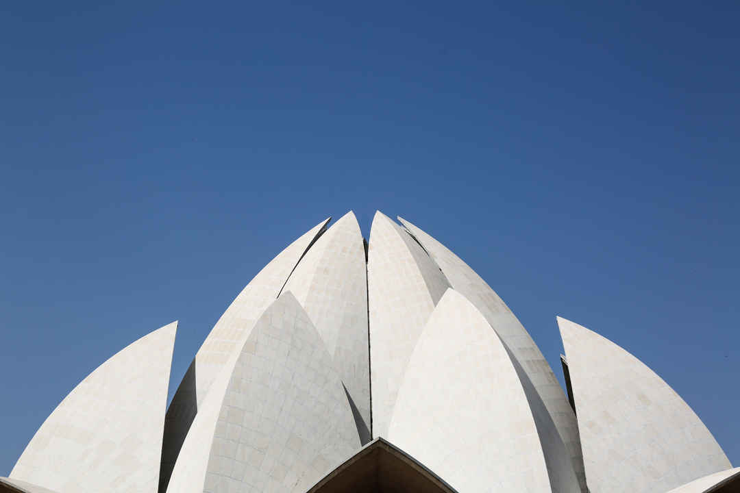 lotus temple an architectural