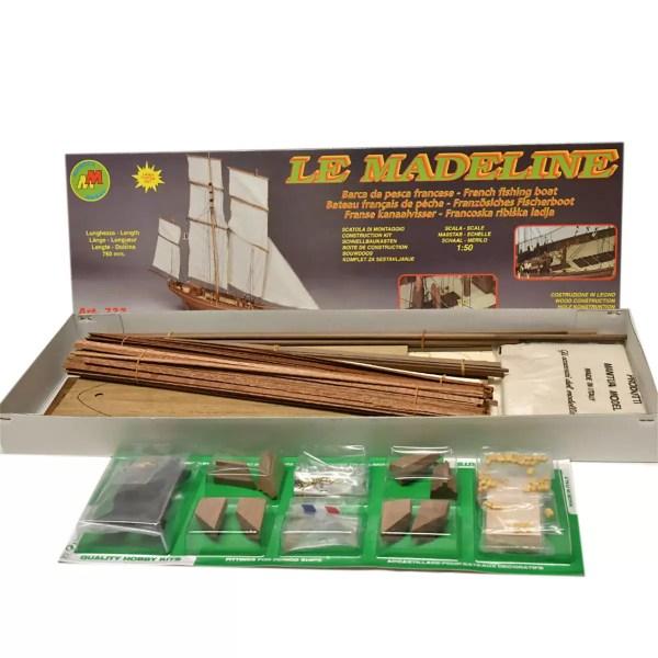Le Madeline hajómakett építőkészlet Mantua