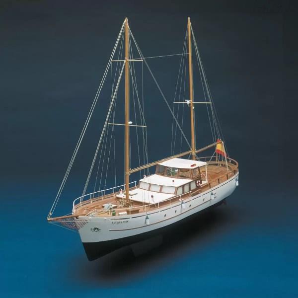 Bruma RC hajómodell építőkészlet Mantua