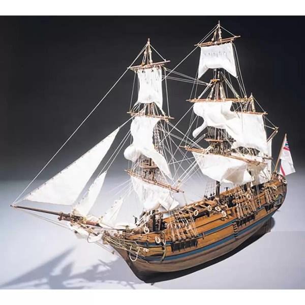 HMS Bounty hajómakett építőkészlet Sergal