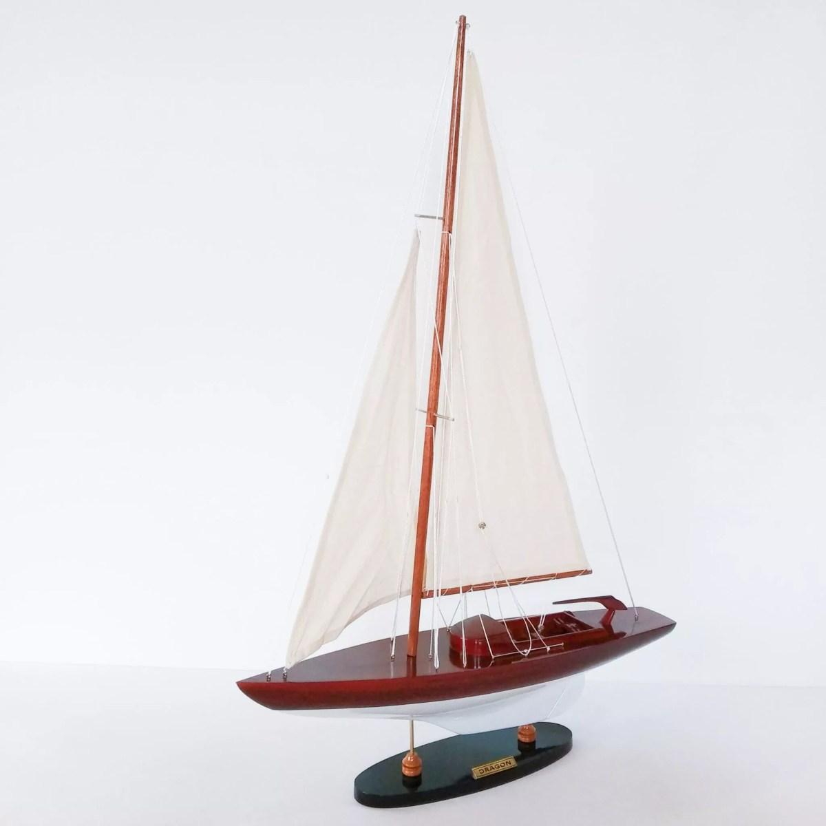 Dragon makett L50 Balatoni hajómakett