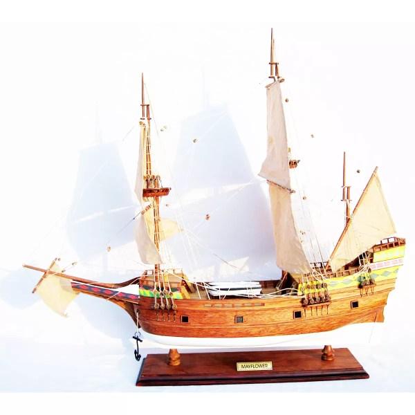 Mayflower makett Történelmi makett