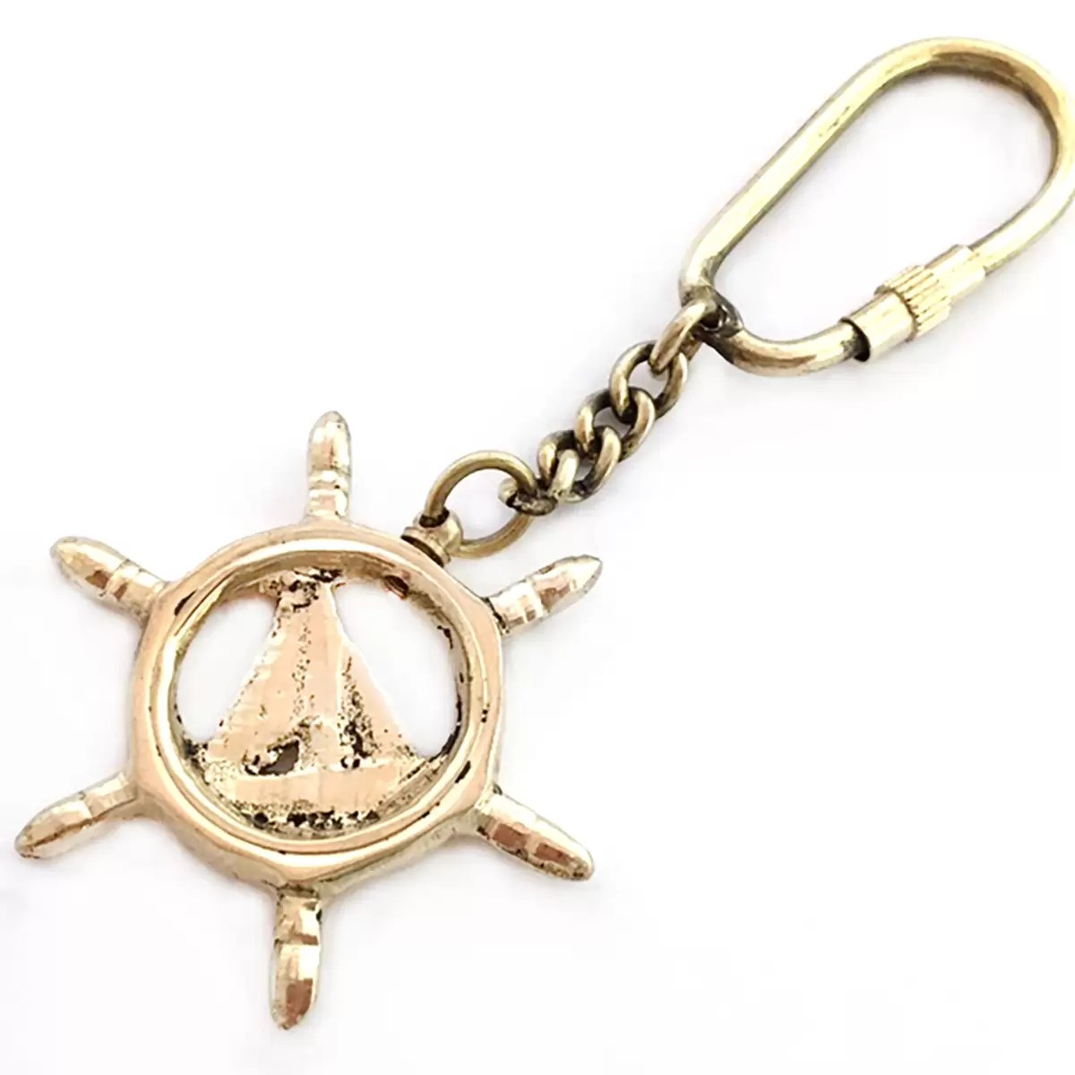 Kulcstartó kormány-vitorlás 4 cm Kulcstartó