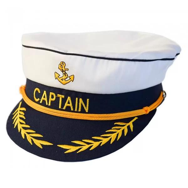 Kapitányi sapka gyerek állítható Sapka, kalap
