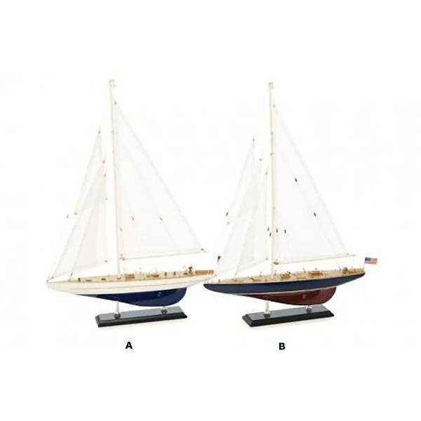 Endeavour / Enterpise L38,5 Vitorlás hajómakett