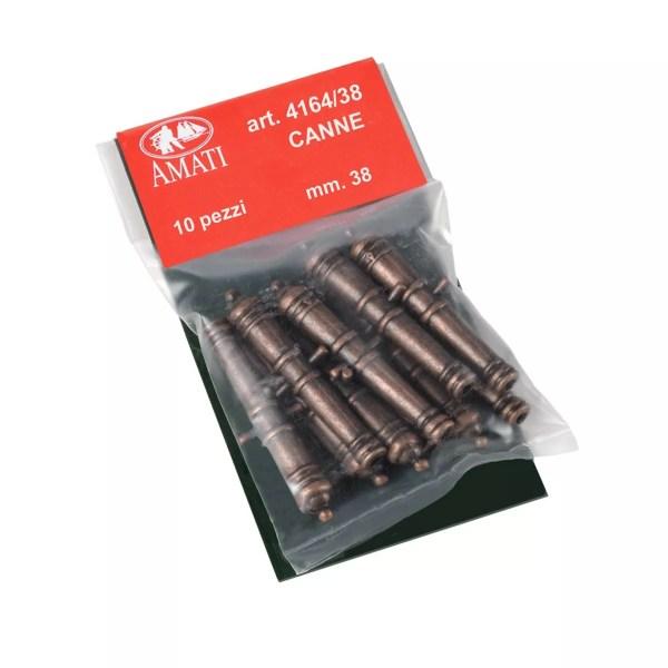 Fém ágyúcső 38 mm 1 darab Kiegészítők