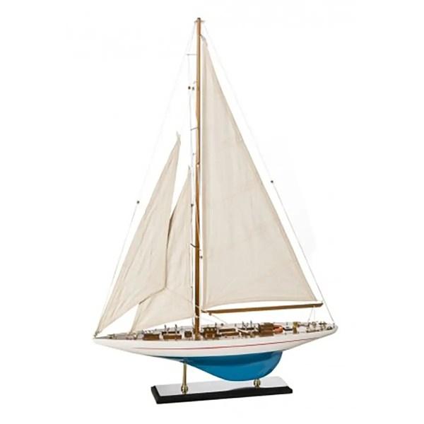 Shamrock makett L60 Vitorlás hajómakett