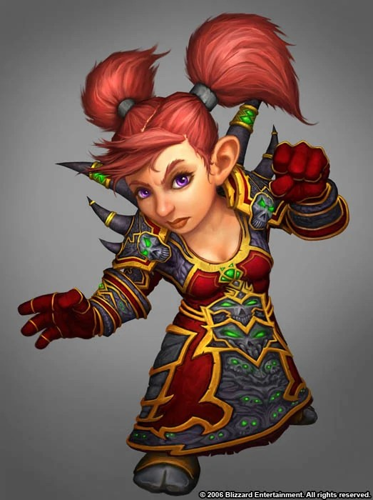 Purple Fantasy Girl Live Wallpaper Gnome Wowwiki Your Guide To The World Of Warcraft
