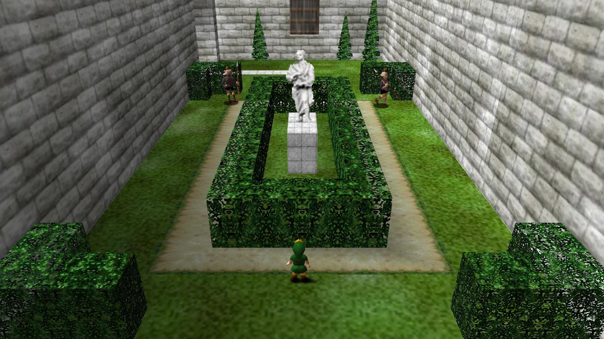 Castle Courtyard  Zeldapedia the Legend of Zelda wiki